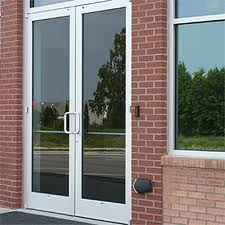 Commercial doors are arguably the best selling aluminium product in the summer, when schools normally carry out any refurbishment or new work.