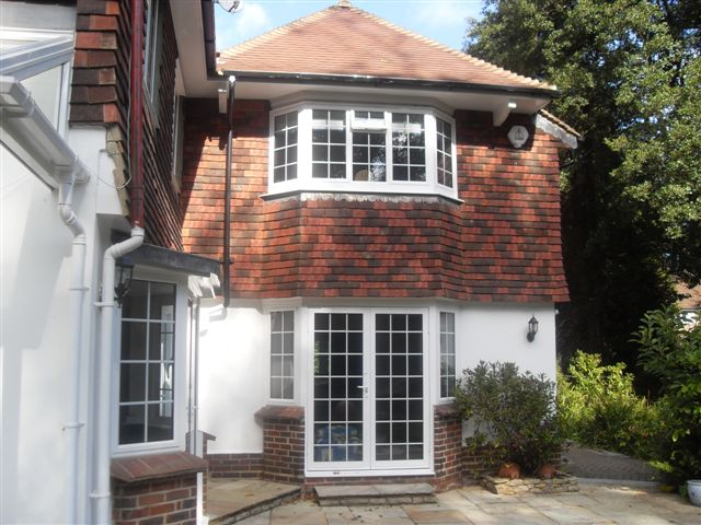 A rated windows in a typical house