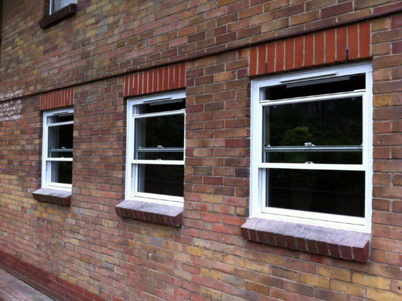 Aluminium Sash Windows : Clearview sash windows aluminium trade supply