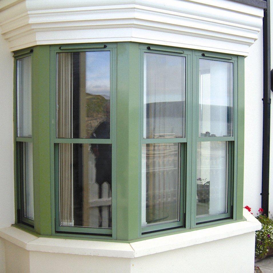 Aluminium Sash Windows : Alumatherm aluminium sash windows from clear view