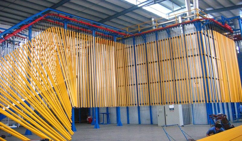 Polyester Powder Coating The Painting Process Ats