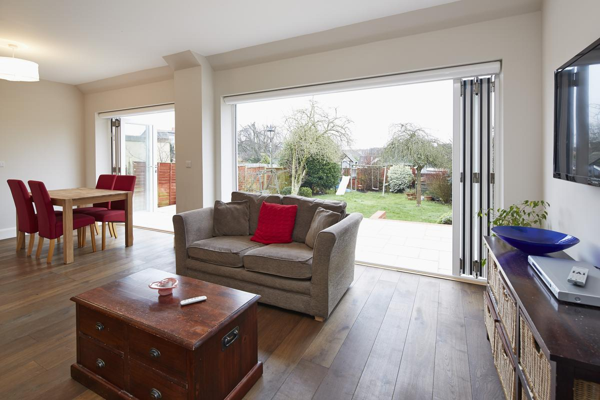 Bifolding Doors are fantastic for connecting the inside and outside spaces. But they can have other uses too.
