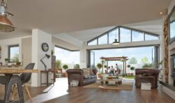 The new origin aluminium window is a bespoke window manufactured to the same exacting standards as their successful bifolding doors.