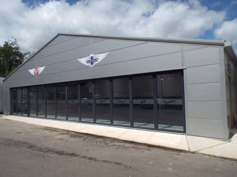 Bifolding Doors For Garages And Car Showrooms