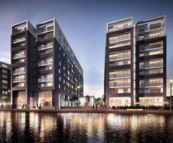 New rental properties with aluminium windows.