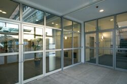 Kawneer 190 And 350 Commercial Aluminium Doors Ats